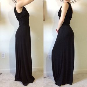BCBG Paris Dresses - BCBG Paris Stretchy Black Maxi Gown